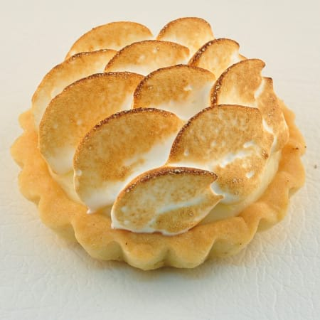 Individual lemon meringue