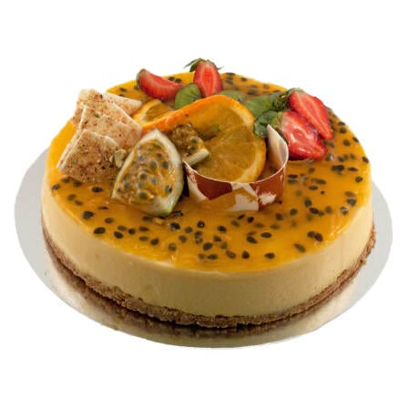 lemon passionfruit cheese