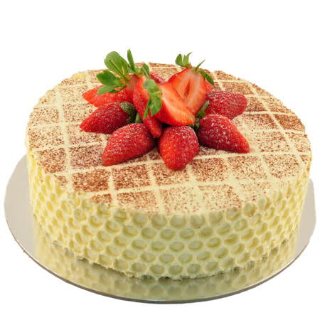 jam and chantilly cream sponge cake with fresh strawberries